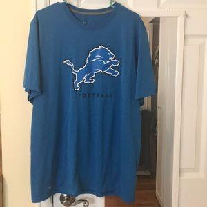 Detroit lions nike shirt